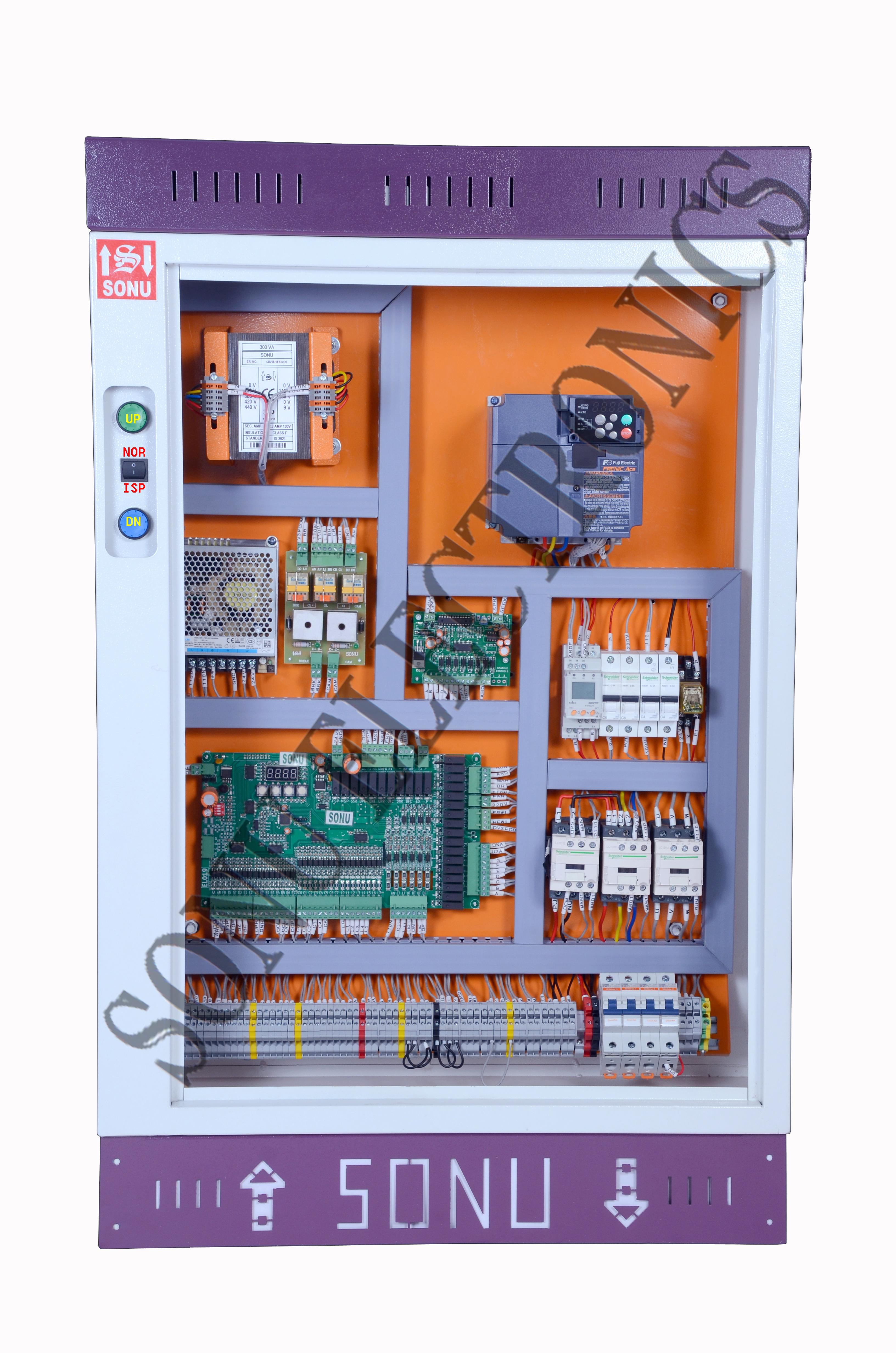 Auto Door And Manual Door Programmable Control Panel