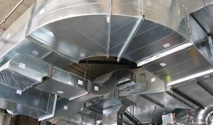 Industrial GI Air Duct Services