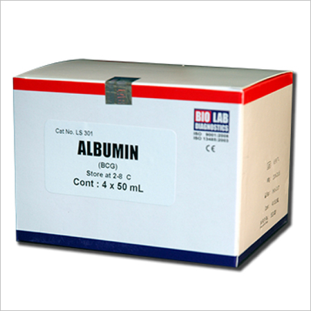 Albumin (Bcg Method Liquidsat)