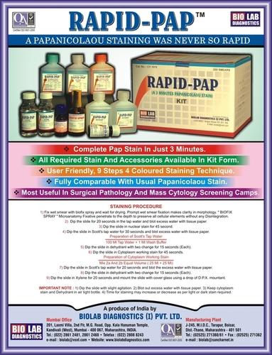 Rapid-pap Stain Kit