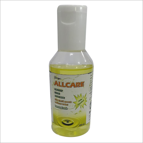 100 ml Lemon Fragrance Hand Sanitizer