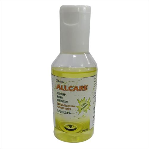 100 ml Lemon Fragrance Hand Sanitizer