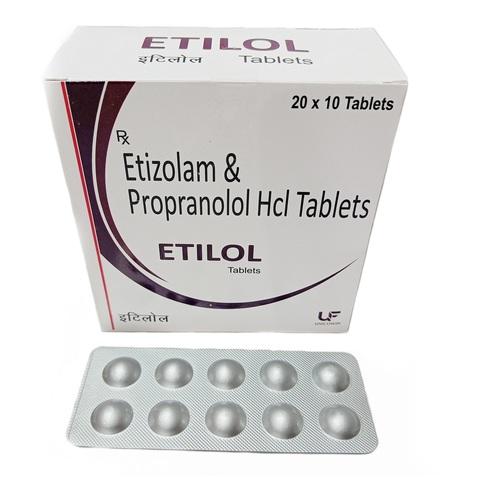 Etizolam Propranolol Hcl Tablets