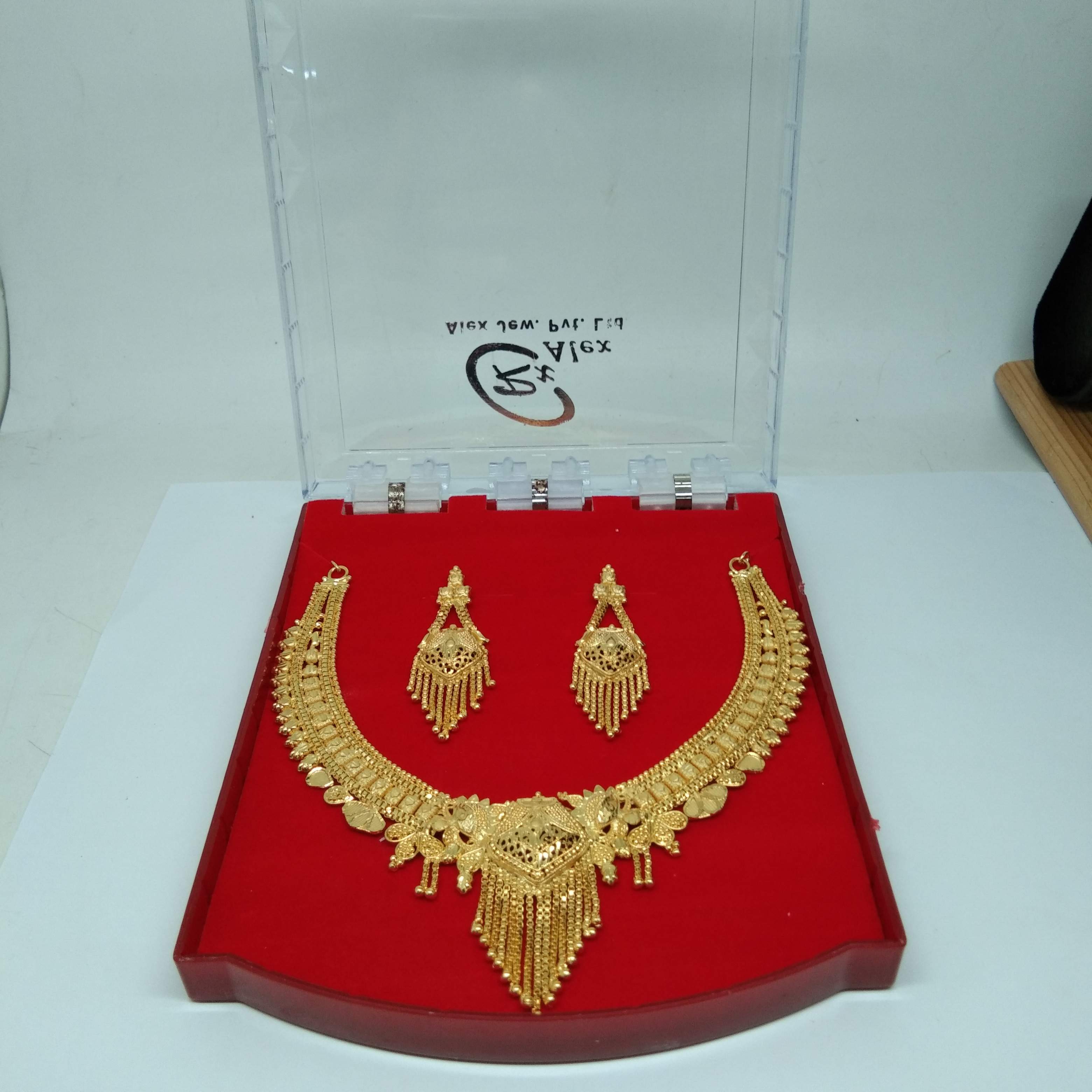 18K Gold plating Forming Necklace Set