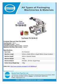 Top Sealer TS-150-58-2C