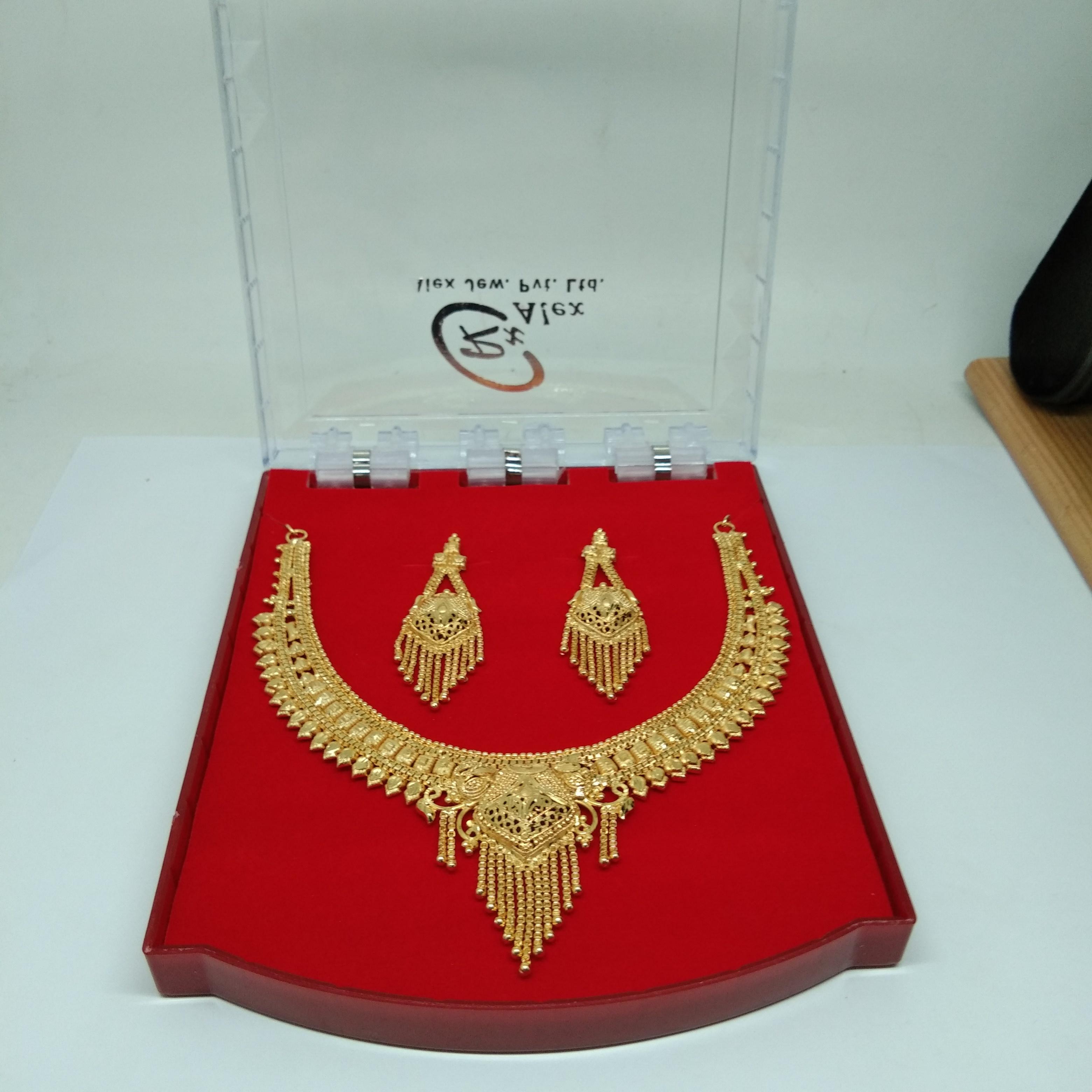 New Design Gold plating Forming Neckalce Set