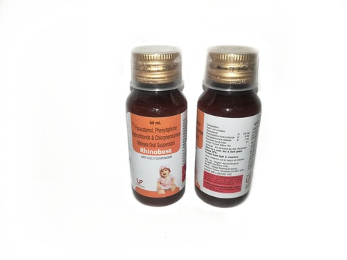 Paracetamol 125mg + Phenylephrine 5mg + CPM 1mg Syrup