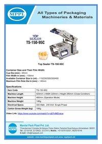 Top Sealer Ts-150-95c