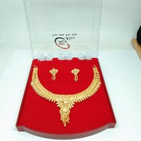 1 Gram Gold plated Forming Necklace set for women&girls