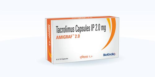 Amigraf 2mg Tacrolimus Capsule