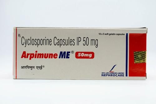Arpimune Me 50mg Cyclosporine Capsule