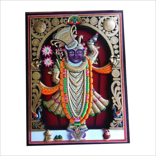 3D Shrinathji Painting