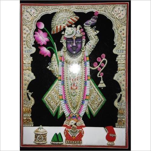 Shreenathji Chappanbhog Shringar God Painting