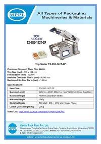 Top Sealer Ts-200-142t-2p