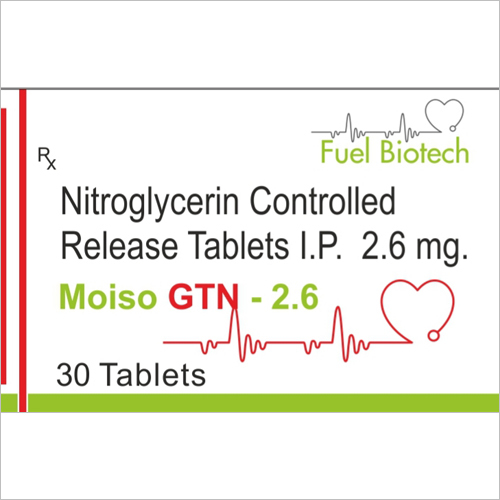 NITRO GLYCERINE -2.6 MG