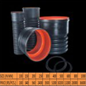 Double Wall Corrugated Pipes Coupler