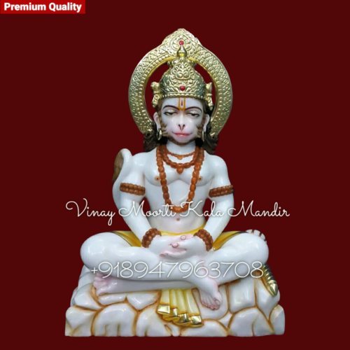 Chanting Hanuman Statue
