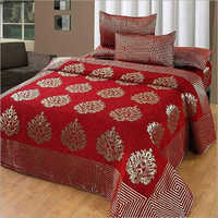 Printed Chennille Bedsheet