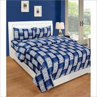 Glace cotton Printed Bedsheet