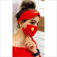 Stylish Face Mask With Scarf