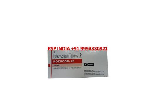 Rozucor 20 Mg Tablets