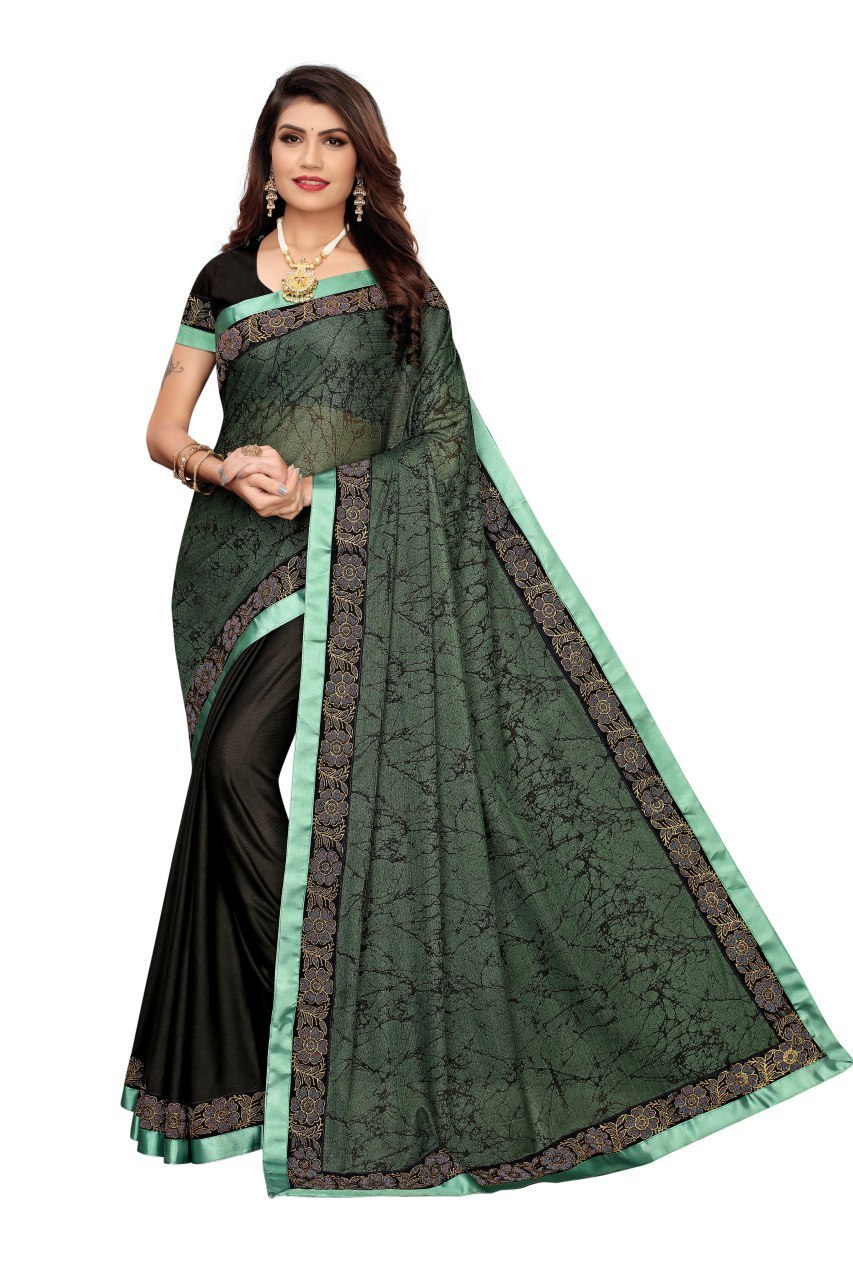 FANCY CHINES FABRIC SAREE