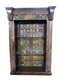 Old Door Bookshelf