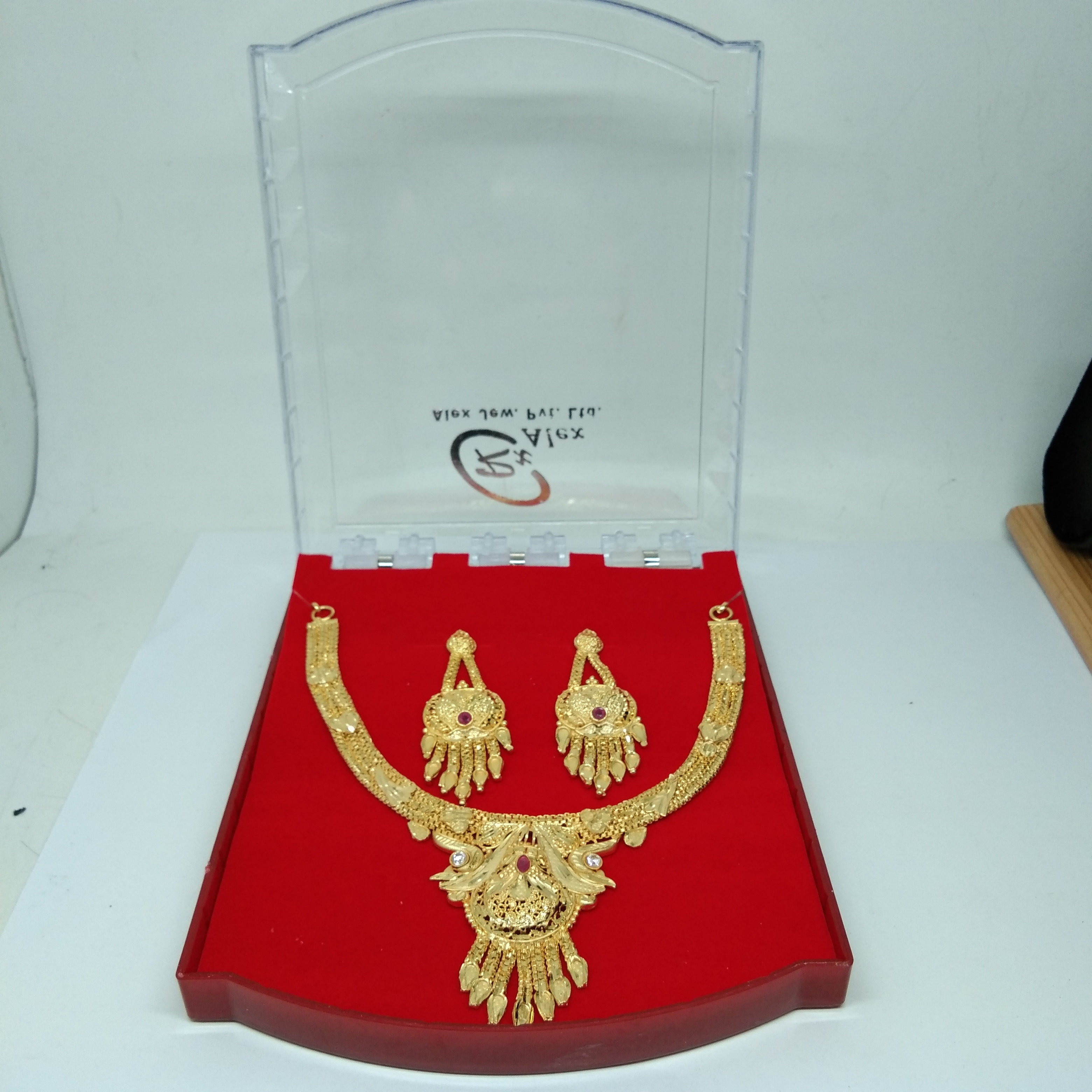 Beautiful Fancy Design Gold Necklace Set for women&Girls