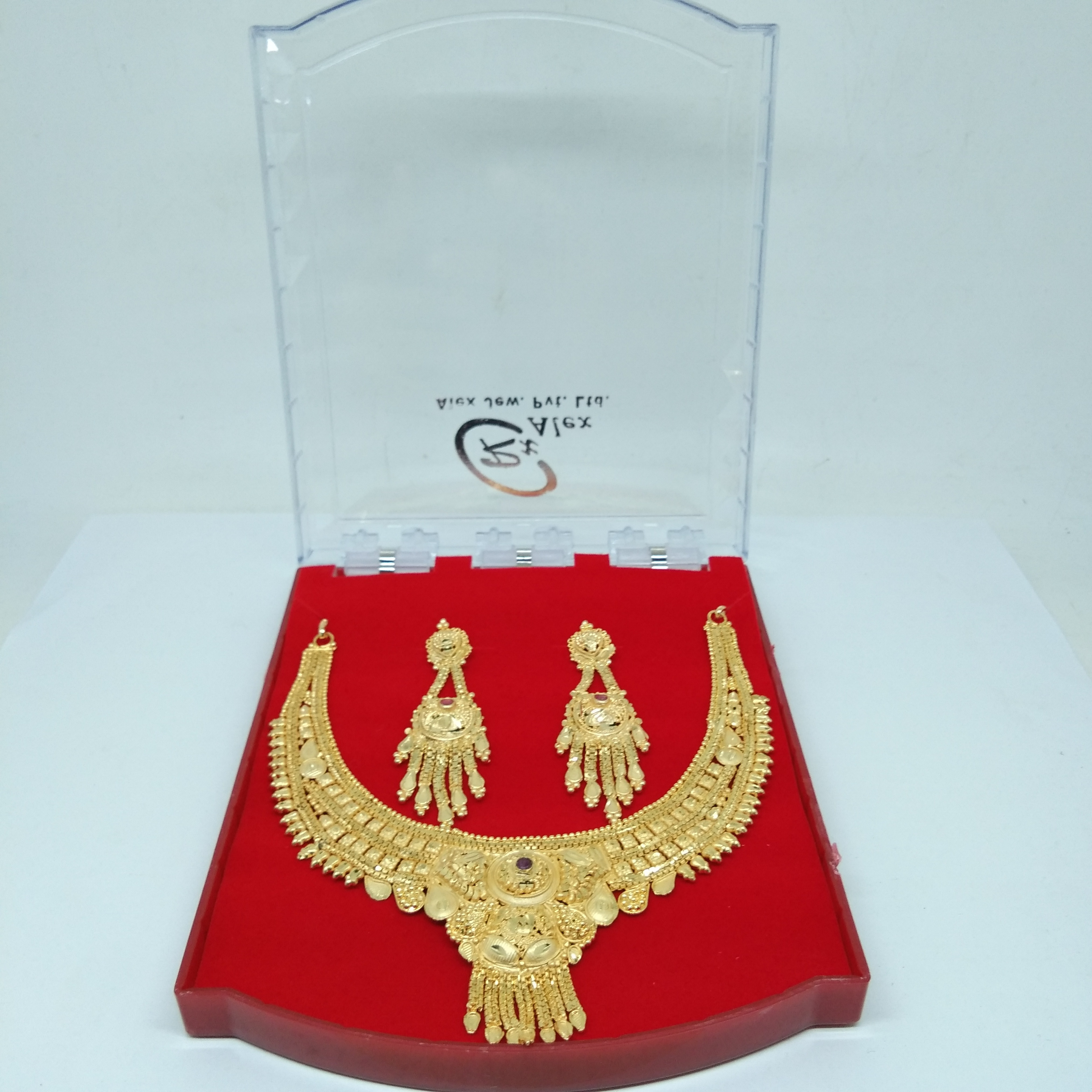 18k Gold Forming Necklace Set for women