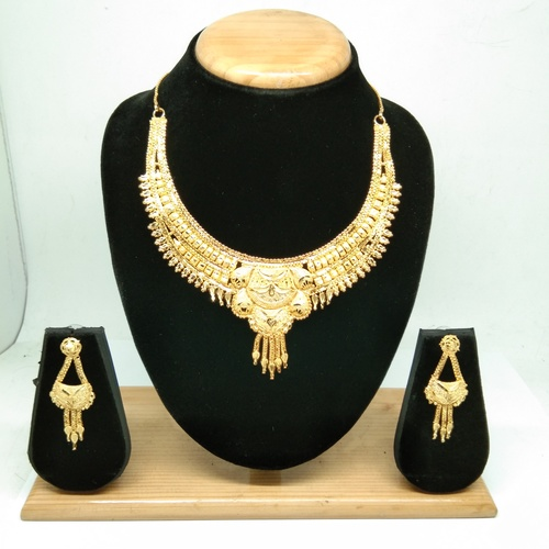 New Attractive Gold plated Necklace Set for women&girls