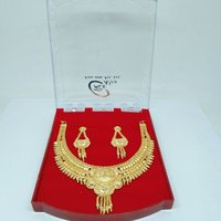 New Attractive Gold plated Necklace Set for Women & Girls