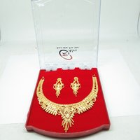 New Attractive golden Color Necklace Set