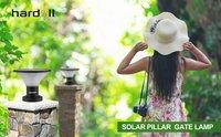 Solar Pillar Light Wall Gate Post Lamp