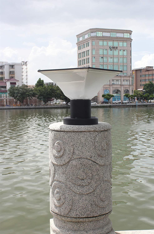 Solar Pillar Wall Gate Post Lamp