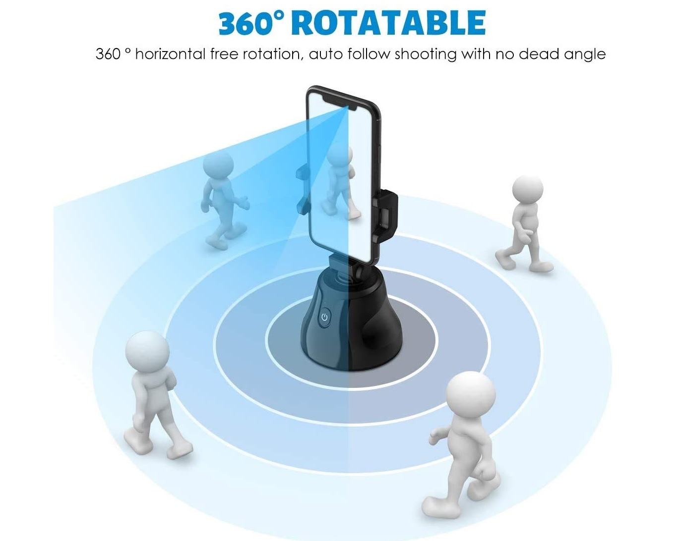 Selfie 360 Degree Rotation Auto Face Object Tracking