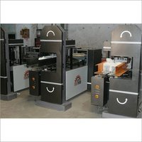 Double Embossing Napkin Making Machine