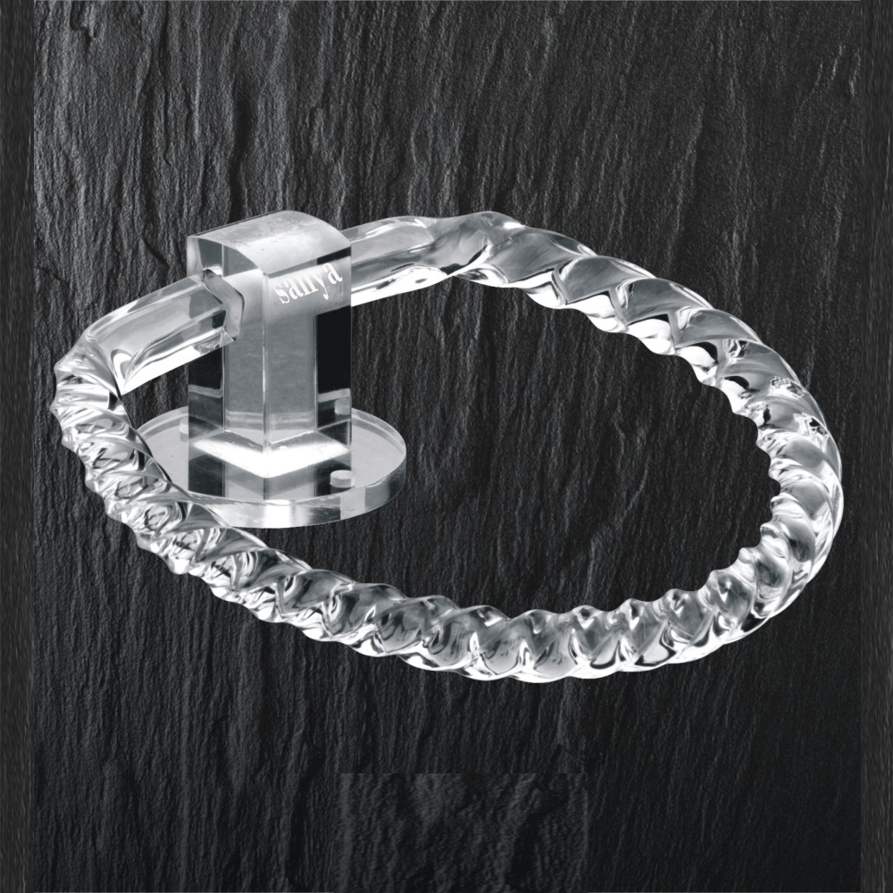 Acrylic Round Towel Ring