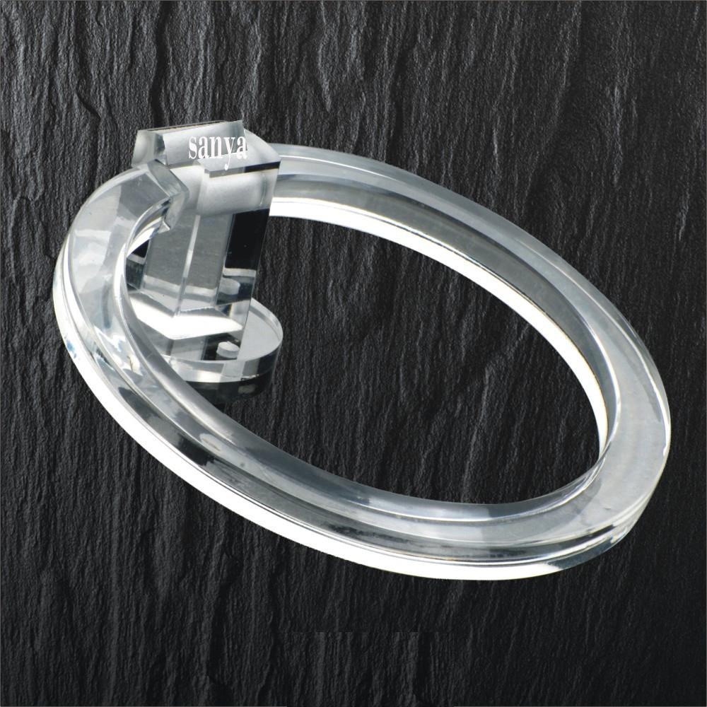ROUND FLAT TOWEL RING