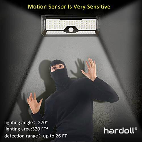 136 LED Solar Motion Sensor Lamp