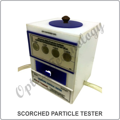 Scorched Particle Tester