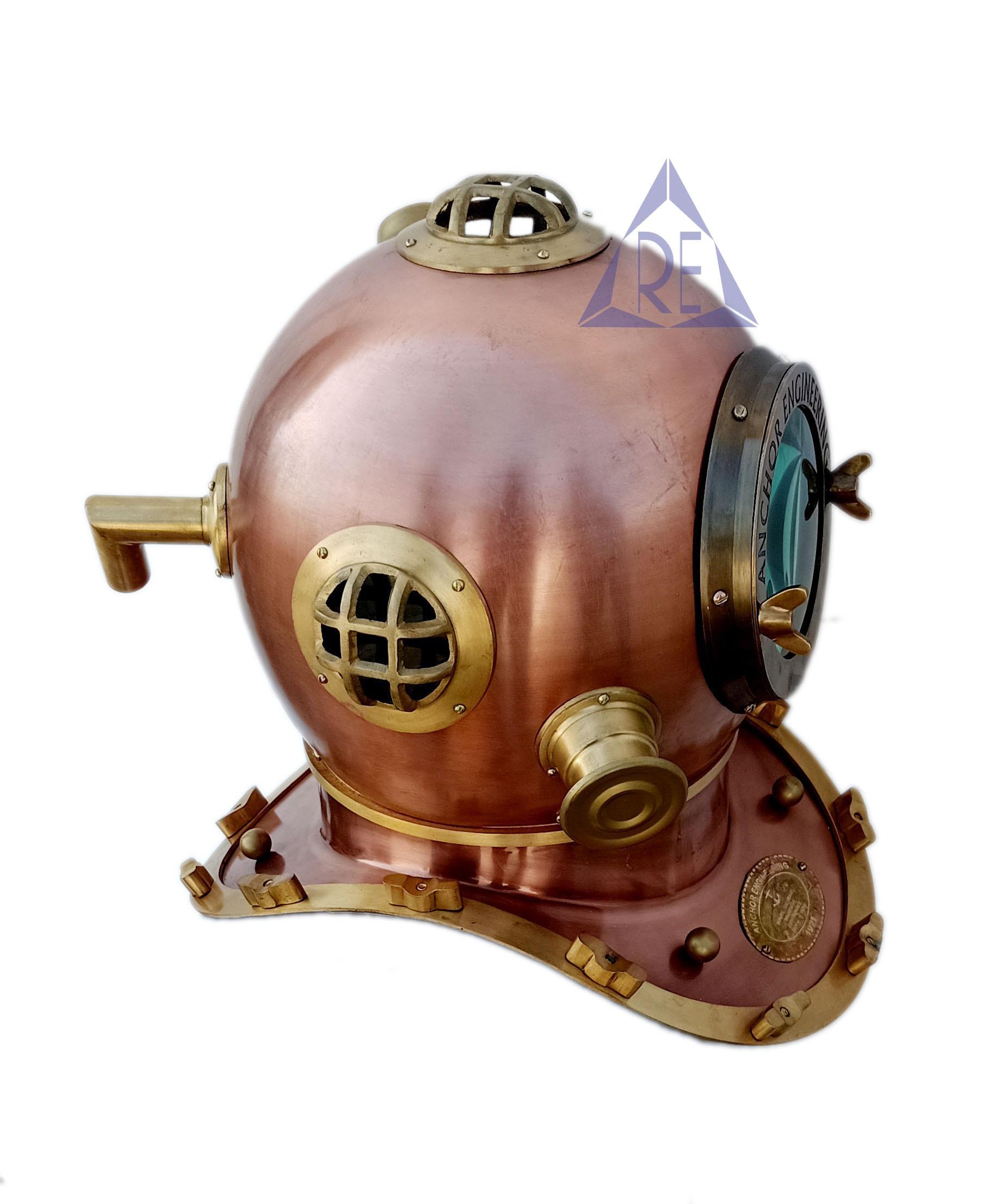 Anchor Engineering Home Decor Mark IV Diving/Divers Helmet