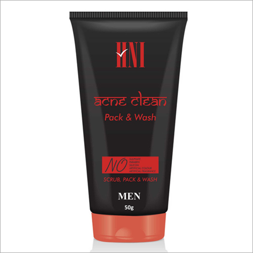 50 gm Men Ace Clean Pack And Wash