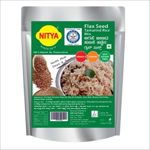 Flax Seed Tamarind Rice Mix
