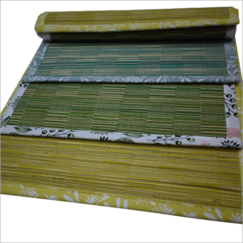 Stripes Straw Mat