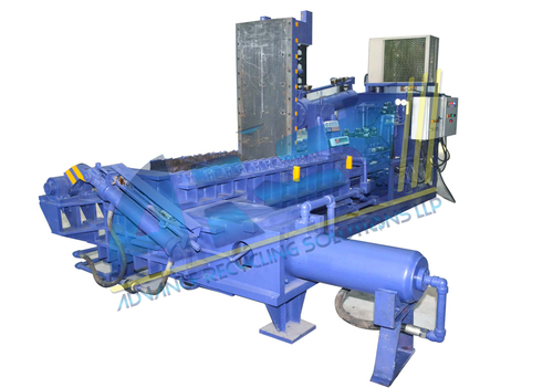 Triple Action Scrap Baling Machine