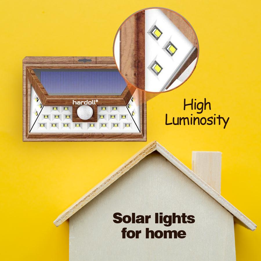 24 Led Solar Lights For Garden Outdoor Lamp