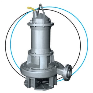 Low Speed Heavy Duty Sewage and Effluent Submersible Pump