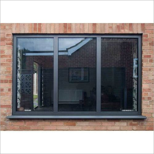 Black Aluminium Sliding Window