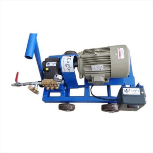 Motorized Triplex Plunger Hydro Testing Pump System