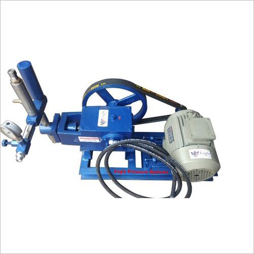 Electric Motor Operated Hydraulic Pressure Test Pump